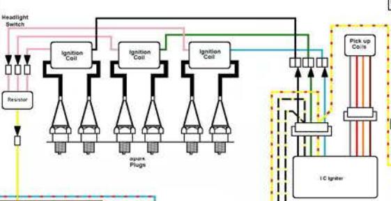 Kawasaki Z1300 Wiring Diagram